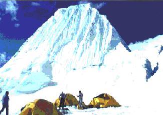 ESCALADA NEVADO ALPAMAYO (5947 m.)