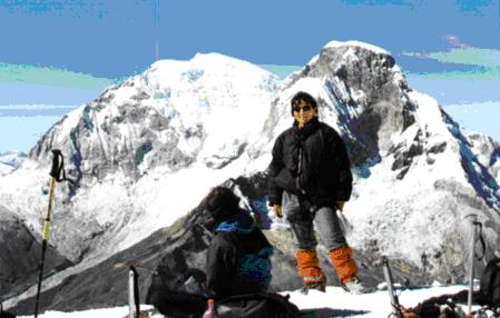 ESCALADA AL NEVADO PISCO (5700 m.)